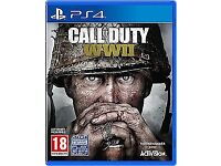 Call Of Duty WWII for PlayStation 4 . Excellent condition