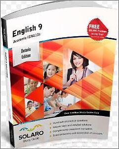 Mathematics & English Grade 9 Academic - Solaro Study Guide