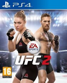 ea sports ufc 2 ,ps4 , as new ! price stands , no offers !