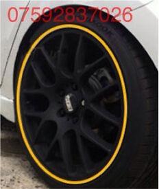 Alloy wheel guards Ford Focus Fiesta RS ST Astra Corsa Adam VXR SRI Seat FR Leon