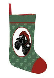 Rottweiler, Scottie, Sheltie,Spaniel Tapestry Christmas Stocking