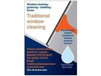Traditional window cleaning service