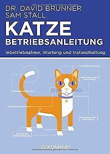 Katze - Betriebsanleitung: Intriebnahme, Wartung und Ins... | Buch | Zustand gut*** So macht sparen Spaß! Bis zu -70% ggü. Neupreis ***