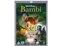 Disney dvds (Little Mermaid, Bambi, Dumbo etc)