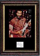 Chuck Berry Signed