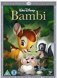 Disney dvds (Peter Pan, Bambi, Dumbo etc)