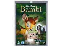 Disney classic dvds (Lion king,Frozen,Bedknobs, Bambi etc),