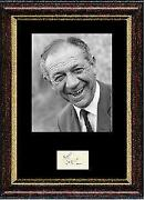 Sid James Signed