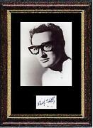 Buddy Holly Autograph