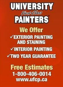 free estimates on all painting needs inside and out