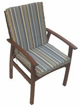 OUTDOOR CHAIR CUSHION – BEACH STRIPE Alexandria Inner Sydney Preview