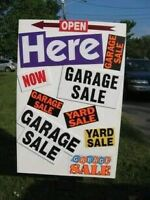 Large moving out yard sale