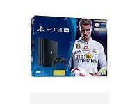 Brand New PS4 Pro 1TB FIFA bundle