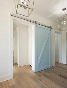 Barn door of your choice and material and sytle Cambridge Kitchener Area image 1