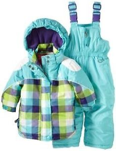 Toddler snowsuit rugged bear