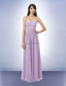 Bill levkoff bridesmaid dress style 778 size 4 violet Kitchener / Waterloo Kitchener Area image 1