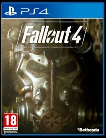 fallout 4 , ps4 , as new ! price stands , no offers ! willing to post !
