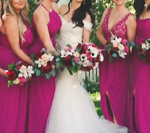 David's Bridal maid of honor dress size 4
