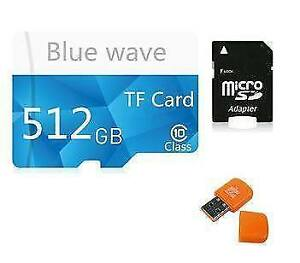 Carte Micro SD 512 GB Classe 10 ou CLÉ USB 512 GB