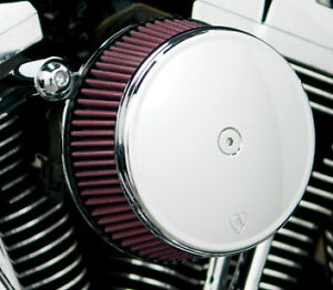 Arlen Ness Chrome Big Sucker Air Cleaner w/ Cover 1999-2013 Harley Softail Dyna