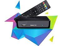 MAG 250 IPTV BOX OPENBOX 12 MONTHS WARRANTY