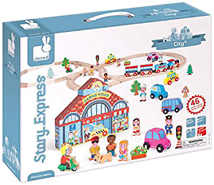 JANOD story express train set - city