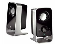 Logitech LS11 Stereo Speakers - Used but in great condition