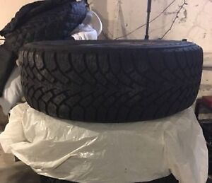 "A pair of 205/55/16 Goodyear Nordics - 16"" 5 Bolt Snow Tires"