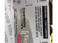 Creamfields 2018 2 Day Camping Tickets
