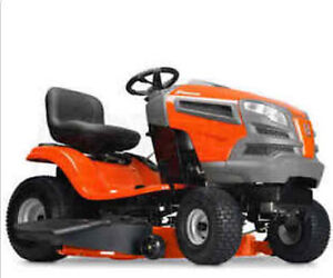 Husqvarna sitting mower - fully maintained - moving sale
