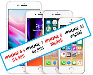 réparer votre iphone 5 6 7. les prix spéciaux sont temporaires.