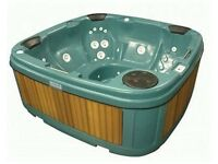 Hot tub unused guaranteed 5 seat 13 amp plug and play with lid