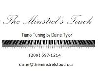 PIANO TUNING in Niagara on the Lake and surrounding areas