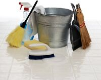 Exellent house cleaning service available