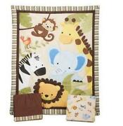 Baby Boy Jungle Crib Bedding Sets