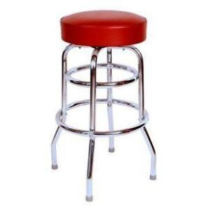Vintage Metal Kitchen Stools