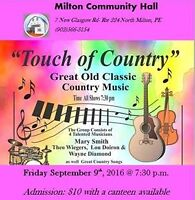Touch of Country -Milton Community Hall
