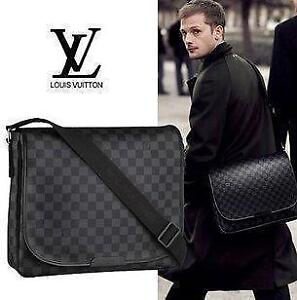 LOUIS VUITTON DANIEL MM-DAMIER GRAPHITE-PERFECT CONDITION