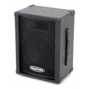 one pair small venue passive Kustom speakers