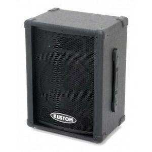 Kustom PA speakers -new condition -never gigged
