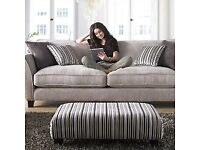 Sofa 2 seater, Designer, Handmade Ex display.