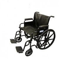 NEW IN BOX X large manual folding Wheelchair- Seat Size 20,22,24