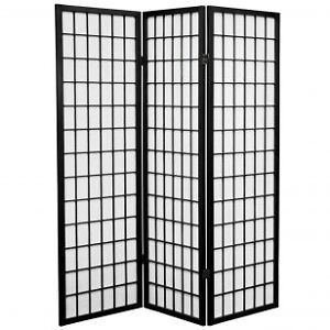 6ft.Tall Window Pane Shoji Screen (room divider )