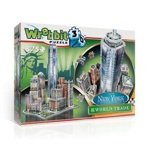Casse-tête 3D Wrebbit Collection complète de New York.
