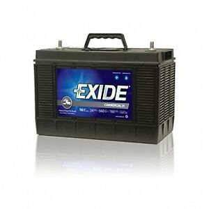 Exide power breed heavy truck battery