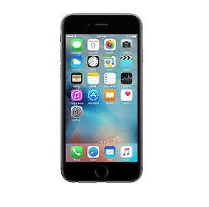 Apple 64GB iPhone 6 (Silver) unlocked with new battery Aug