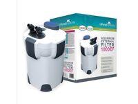 1000EF external fish tank filter