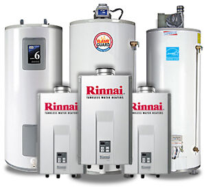 Power Vent, Conventional Vent, Tankless water heater