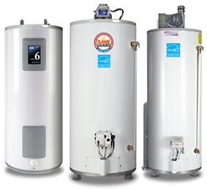 Hot Water Heater Upgrade -Worry-FREE Rental Program