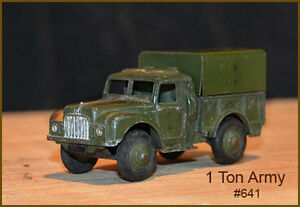 Vintage Military Dinky Toys